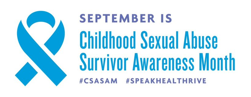 CSA survivor awareness month